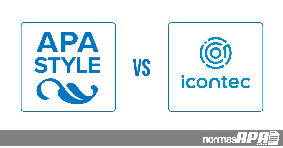 Normas APA vs ICONTEC